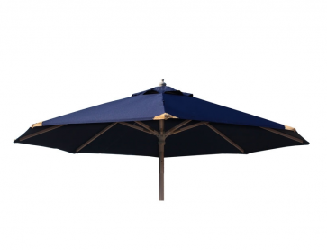 Parasol Ø250 med tilt Blå