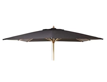 Luksus Parasol Olefin 300x300 Sort