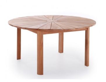 Matahari Luksus rundt teak bord Ø 150 cm