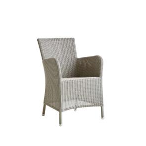 Cane-line Hampsted stol m/armlæn - lys grå