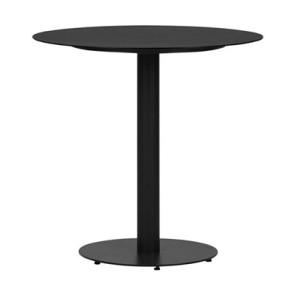 Cafebord Sort Ø70 cm