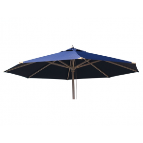 Luksus Parasol Ø300 Blå