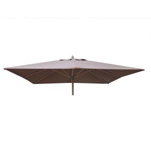 Luksus Parasol 3x3 meter Sand