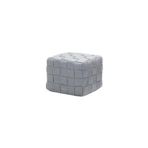Cane-line Cube fodskammel Lysegrå