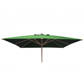 Parasol 250x250 med tilt Grøn