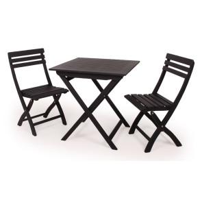 Amalienborg Cafe sæt u/armlæn Sort
