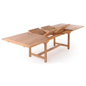 Nanna Teak udtræksbord - 100x200/250/300 cm