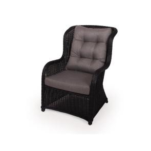 Mira Luksus lounge stol Sort