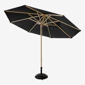 Parasol De Lux OLEFIN Ø330 Sort