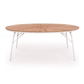 Rørvig Havebord ovalt 90x180cm